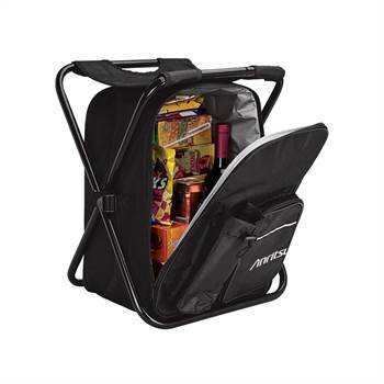 Cooler Bag Chair With Front Water Bottle Holder & Zippered Pocket - Personalization Available