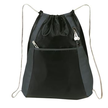 Ripstop Drawstring Backpack - Personalization Available