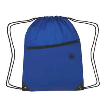 Sports Backpack With Front Zipper Pocket - Personalization Available
