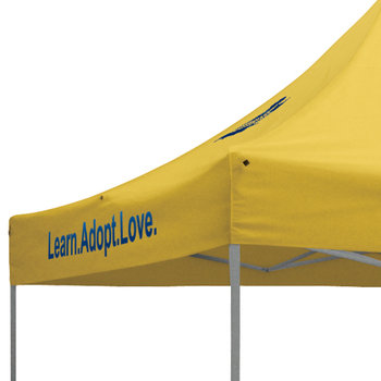 Showstopper Standard Tents (Full-Color Imprint - 4 Locations) - Personalization Available