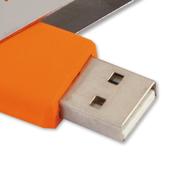 2GB Folding USB 2.0 Flash Drive - Personalization Available