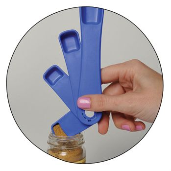 Made in the USA 4-Piece Measuring Spoons - Personalization Available