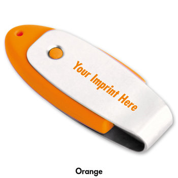 2GB Oval USB 2.0 Flash Drive - Personalization Available
