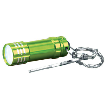 Mini LED Flashlight Key Ring - Personalization Available