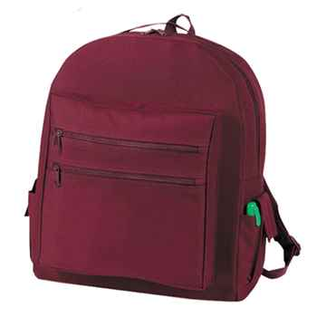 All-Purpose Backpack With Two Velcro Closure Side Pockets - Personalization Available