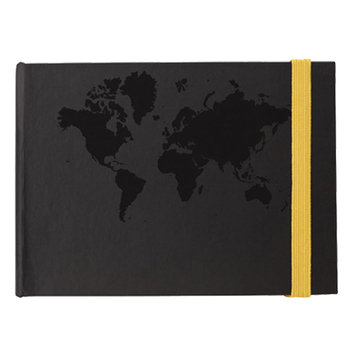World Design Sticky Notes Book - Personalization Available