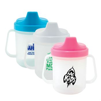 Select Lid Color 2-Handled Sippy Cup - Personalization Available