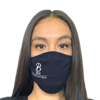 Next Level Adult Tri-Blend Face Mask - 1 Color Personalization Available