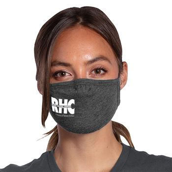 Allmade® 2-Ply Tri-Blend Organic Face Mask - 1 Color Personalization Available