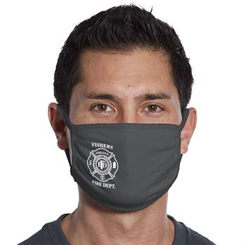 Port Authority® 3-Ply 100% Cotton Face Mask - 1 Color Personalization Available