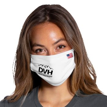 Port Authority All American Cotton Knit Face Mask - 1 Color Personalization Available