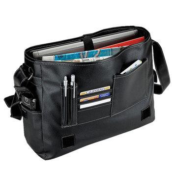 Lichee Computer Briefcase With Adjustable Shoulder Strap - Personalization Available