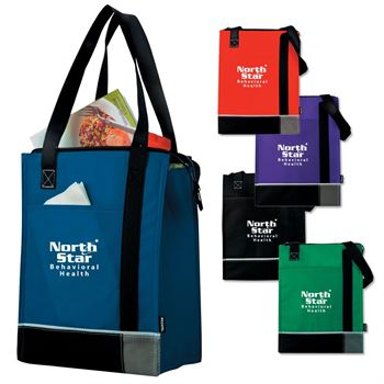 Koozie® Tri-Tone Lunch Sack With Thermal Lining - Personalization Available