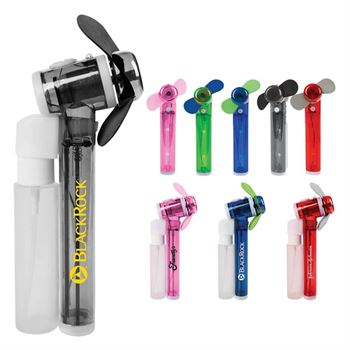 Spray Fan With Removeable Mister - Personalization Available