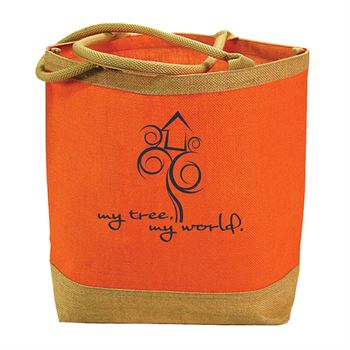 Market Jute Tote - Personalization Available