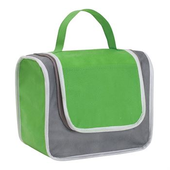 Non-Woven Poly Pro Lunch Box With Zippered Closure - Personalization Available