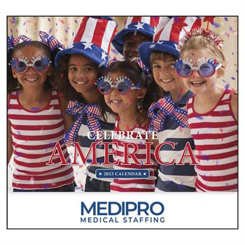 Celebrate America 2020 Calendar - Personalization Available