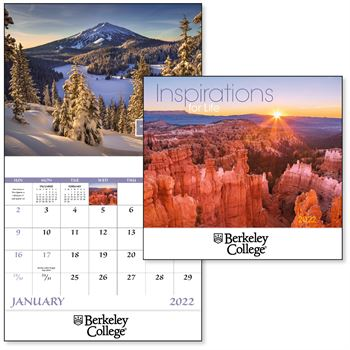 2020 Inspirations for Life Wall Calendar - Stapled - Personalization Available