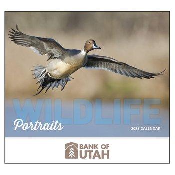 2021 Wildlife Portraits Wall Calendar Stapled-Add Your Personalization
