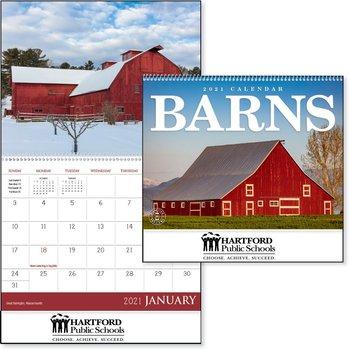 Barns 2021 Calendar�- Personalization Available