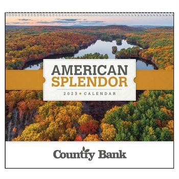 American Splendor 2021 Deluxe Appointment Calendar - Spiral - Personalization Available