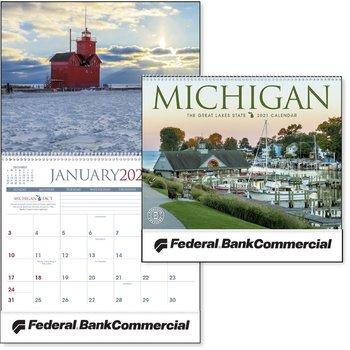 Michigan 2021 Calendar-Personalization Available
