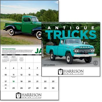 Antique Trucks 2021 Calendar-Personalization Available