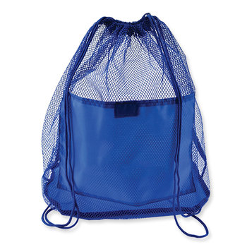 Mesh Backpack Allows Wet Items To Dry - Personalization Available