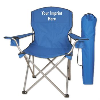Round Top Folding Chair - Personalization Available