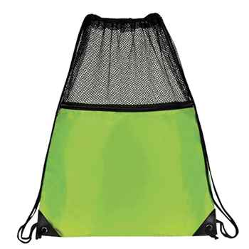 Mesh Drawstring Backpack - Personalization Available