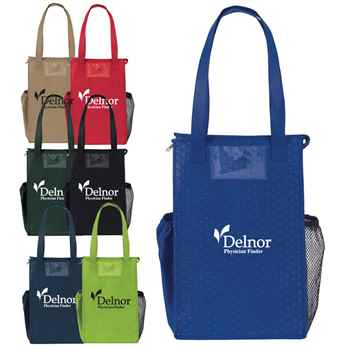 Insulated Therm-O-Super Snack Non Woven Lunch Cooler - Personalization Available