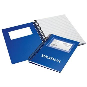 Business Card Holder Notepad - Personalization Available