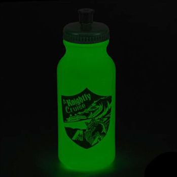 Glow-In-The-Dark Sports Bottle - Personalization Available