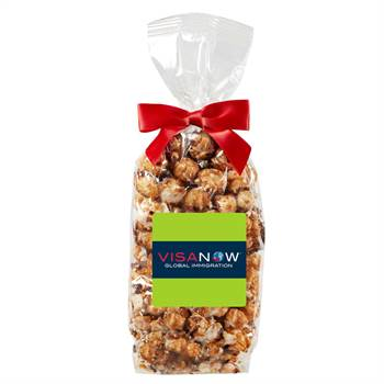 Gourmet Popcorn Gift Bag - Full-Color Label - Personalization Available