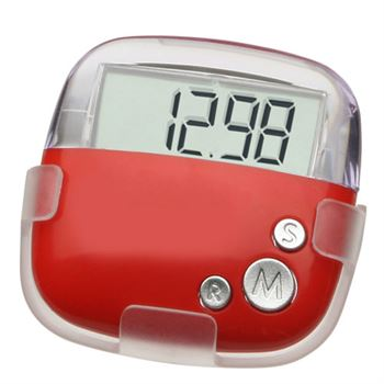 Flip Clip Pedometer - Personalization Available