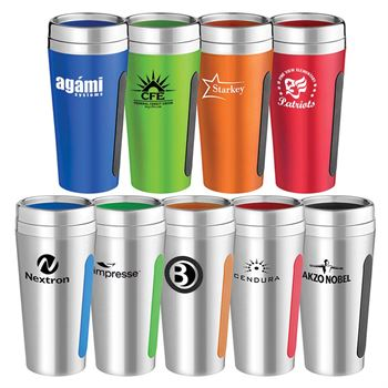 Dual Grip Travel Tumbler 18-oz. - Personalization Available