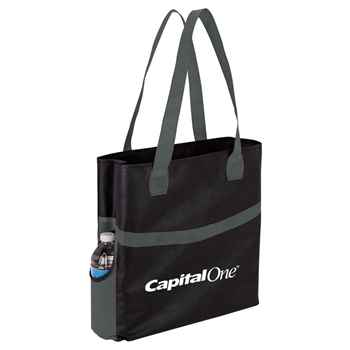 Glacier Non-Woven Shopper Tote - Personalization Available