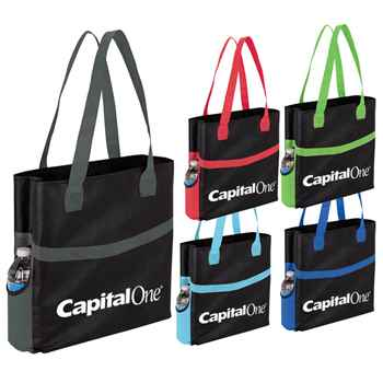 Harbor Non-Woven Shopper Tote - Personalization Available