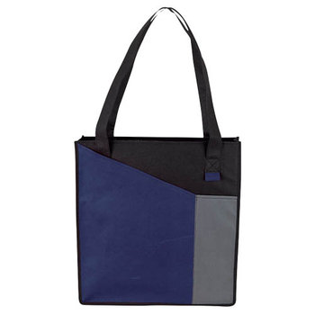 2 Front Pockets Non-Woven Tote Bag - Personalization Available