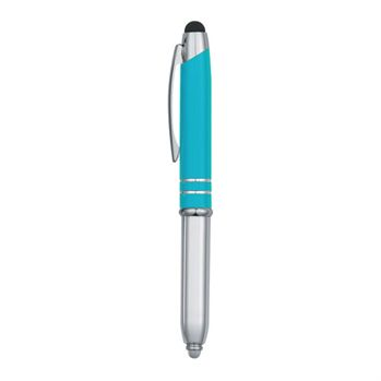 3-In-1 Stylus/Pen/LED Flashlight - Personalization Available