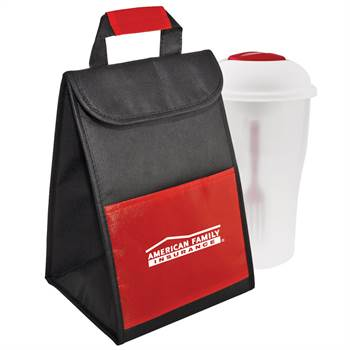 Cooler Bag With Salad To Go Shaker - Personalization Available