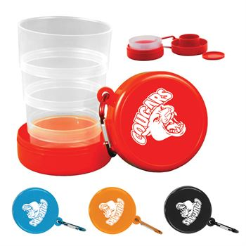 Collapsible Cup/ Pill Holder - Personalization Available