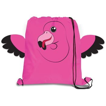 """PAWS""itive Pals Drawstring Backpack - Personalization Available"