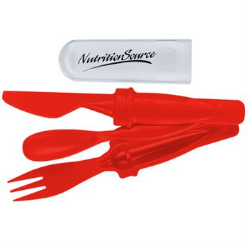 3-Piece Snack Time Cutlery Set - Personalization Available