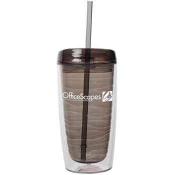 Wave Tumbler 16-Oz. With Straw - Personalization Available