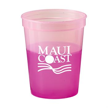 Reusable Color Changing Mood Stadium Cup 16-oz. - Personalization Available