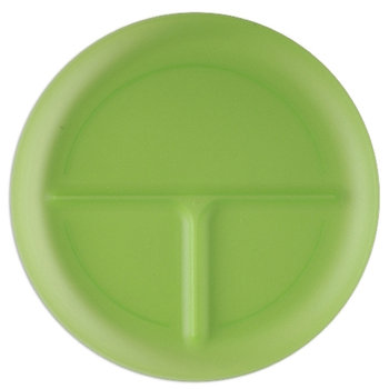Polypropylene Portion Plate (Adult) - Personalization Available