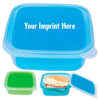 Freezable Gel Lid Storage Container (Personalization Available)
