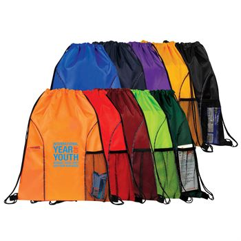 Drawstring Backpack (Polyester) - Personalization Available