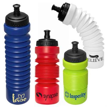 Accordion Water Bottle 28-oz. - Personalization Available